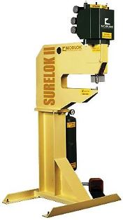 Norlock Surelok II Clinching machine for sheet metal clinching/fastening