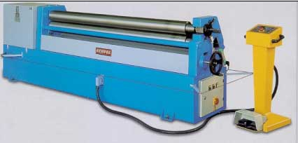 Akyapak hydraulic plate bending machine |  Model ASM Asymmetrical 3 Roll Bending Machine