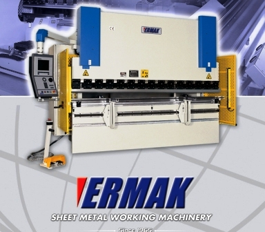 Ermaksan - Ermak model CNCHAP 3 axis syncronized hydraulic press brake