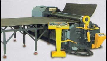 Akyapak Model AHS with Material Feeding | Akyapak  roll bending machine