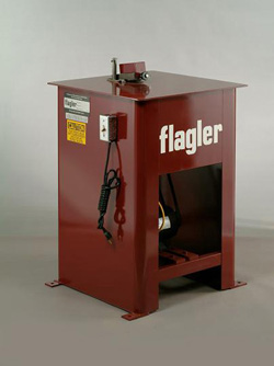 Flagler 16 gauge power flanger / power flanging machine
