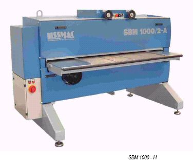 Lissmac Steel Brushing Machine Center | Deburring | Laser Oxide Removal System